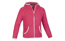 Salewa Girl's Vesuvian Print PL Jacket pink rose
